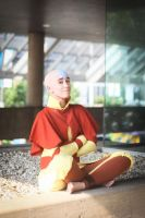 Avatar Aang by ElliotCosplay
