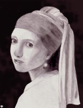 The Girl With A Pearl Earring by daygazer