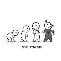 Fancy Evolution by arseniic