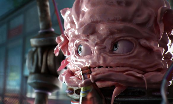 Krang (in full Friday) by AndreyBobir