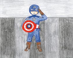 Captain America by PseudonymousRMY