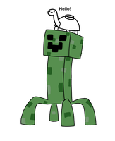 Creeper and Mine turtle by pein078
