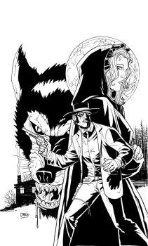 Shotgun Messenger Inked Cover by Darry