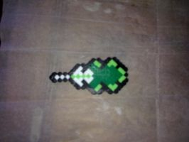 Perler Hama Bead - Pokemon Badge by Yuny-Chan