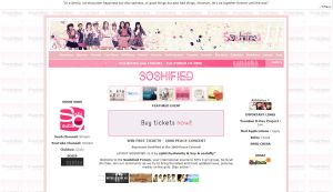 Soshified v1.0 Layout by soshified