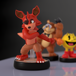 Foxy Amiibo! by SmashingRenders