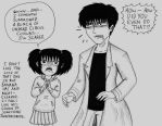 Subaru Tried to be a Good Teacher by Batsu13angel