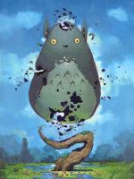 Pieces of Totoro by AlexKonstad