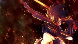 Kill la Kill: Ryuko Matoi by Nightfall1007