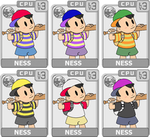 Character Select: Ness by koopaul