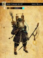 Edge of Twilight game Character 09 by RodGallery