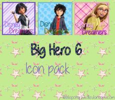 Big hero 6 icon pack by LizziePony12
