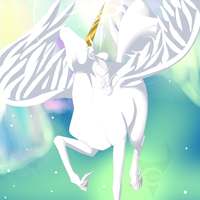 Flight of Pegasus by tehgamesayshi