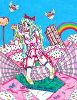 Candyland Girl by ItalianDream