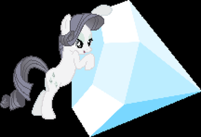 Rarity and Tom Pixelated by Coltboy