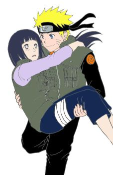 Hinata and Naruto by love4anime