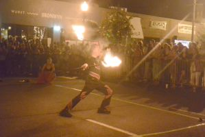 Ignite the Night Fire/Food Fest,Two Handed Flamin5 by Miss-Tbones