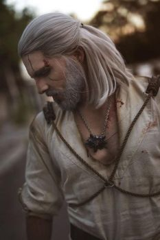 Geralt of Rivia - The witcher 3 by Link130890