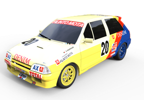 Citroen AX GTi for rFactor by AlexVentura