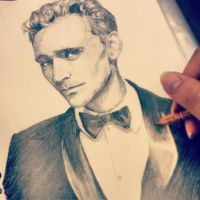 Tom Hiddleston Tux Sketch by angelz-devil