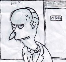 Mr. Burns by Cababs