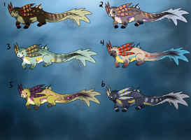 Mudpuppy Adoptables Sheet 2 by animalartist16