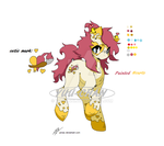 Painted Hearts Pony Adopt (CLOSED) by Yu-Tanni