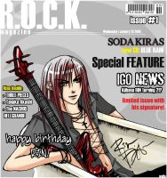 Rin's Birthday..fake magazine by WelloJello