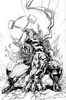 Marvel NOW Thor by caananwhite