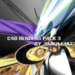 C4D Renders Pack 3 by jimkimjat
