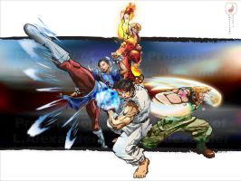 Street fighter by Xander7