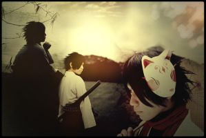 Sasuke Cosplay Wallpaper by penragonwebsite