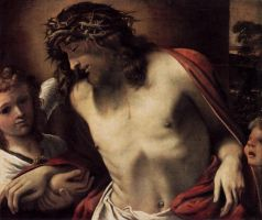Christ-wearing-the-crown-of-thorns-supported-by-an by paulauskas