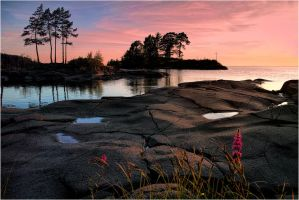 Sunset.. Valaam Islands... _3_ by my-shots