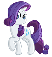 Rarity Digital Drawing by techs181