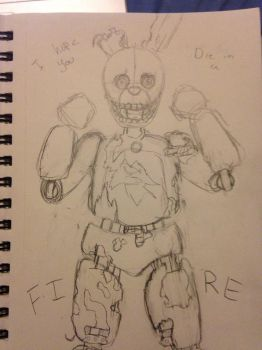 Spring trap (WIP) by Sketch-Artist-4ever