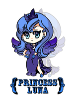 Princess Luna by SamaiMurai