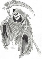 Grim Reaper by Spiffy-Kitsune