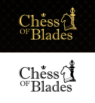 Chess of Blades - VN: logo by Irlana
