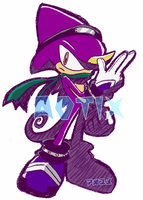 ESPIO in Sonic Riders? by aotix