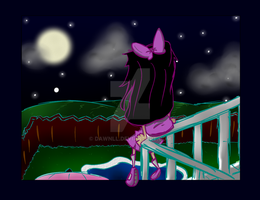 .:Looking the stars:. by Dawnll