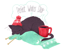 Perfect Winter Day by Eve-Brengard