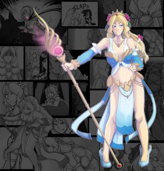 SMITE - Aphrodite Comic Panel by Zennore