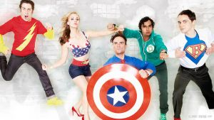 The Big Bang Theory - Wallpaper 06 by Dead-Standing-Tree