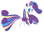 Rainbow Power Rarity by Dragonfoorm