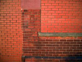 Red Brick wall by Rachel-Speed