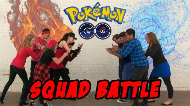 Pokemon Go: SQUAD BATTLE (video) by woot859