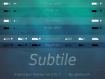 Subtile ST iOS 7 by DjeTouch59