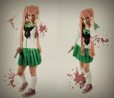 Saya Takagi Highschool of The Dead by thecreatorscreations