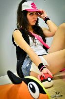 Touko Pokemon Cosplay Gotta catch em all!! by konohanauzumaki